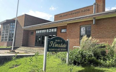 """Hinsdale Elementary School, Winsted Connecticut News Alert- """"Project completed on schedule! Project completed right!"""""""
