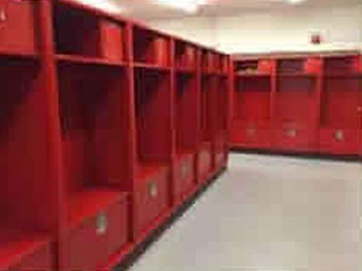 Cheshire High School Locker Room Renovation
