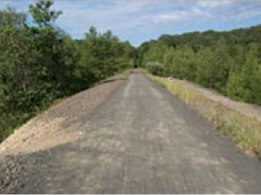 Extension of Air Line State Park Trail