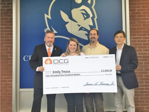 Emily Trezza Named 2018 Diversity Construction Group Foundation Scholarship Recipient